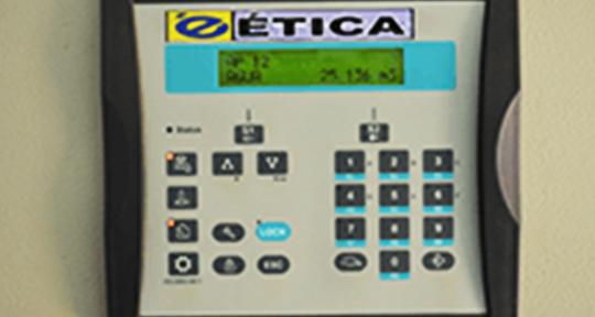 Sistema de medição por telemetria cabeado